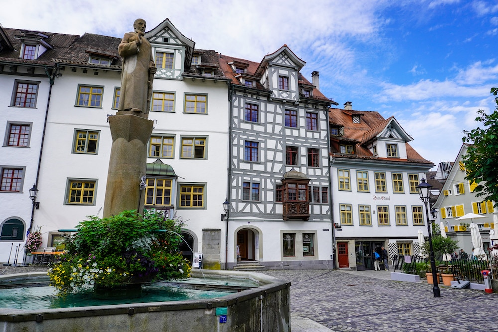 st. gallen is a lovely city to see with 8 days in switzerland