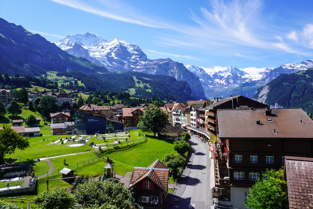 wengen is absolutely gorgeous